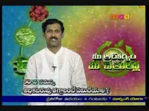 Manthena Satyanarayana Raju Weight Loss Yoga On Youtube ...