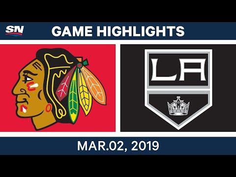 NHL Highlights | Blackhawks vs. Kings – Mar 2, 2019