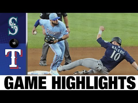Download Mariners vs. Rangers Game Highlights (8/1/21) | MLB Highlights
