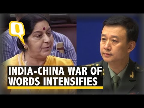 Don't Push Your Luck: China's Defence Ministry Threatens India - The Quint
