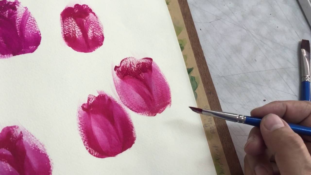 Teknik Coloring dengan Watercolor, Untuk Gan Sis yang Mau Mencoba!
