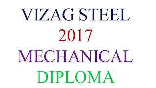 VIZAG STEEL JUNIOR TRAINEE SOLVED PAPER 2015 PART 03