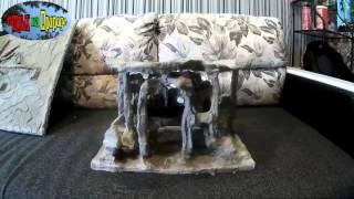Изготовление фона и замка для аквариума своими руками(В этом видео показаны вещи изготовленные своими руками ., 2016-03-23T15:26:57.000Z)