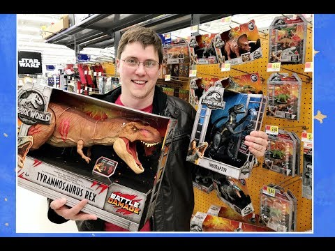 NEW! Jurassic World-Fallen Kingdom Whole Collection Toys Found At WALMART /Incredibles 2 New Toys