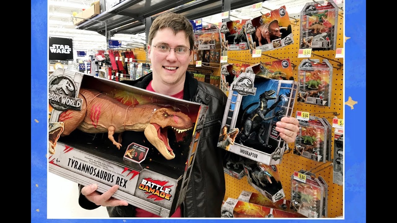 New Jurassic World Fallen Kingdom Whole Collection Toys
