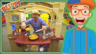 Blippi takes you on a journey to learn colors and learn numbers at ...