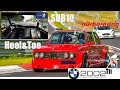 Classic BMW 2002 Tii Nürburgring Sub10 Heel&Toe DutchRingRacing