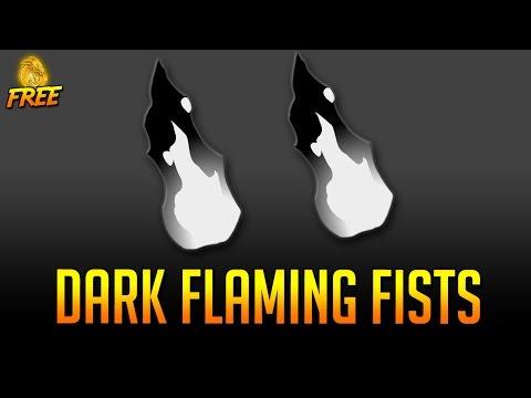 Free AC Flame Fists AQW 2016 (Dark Flaming Fists)