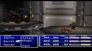 Final Fantasy VII Playthrough Part 13 Hundred Gunner & Heli Gunner