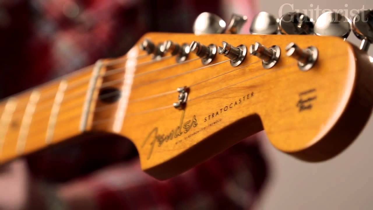 Fender Classic Series '50s & '60s Stratocaster Lacquer electric guitars demo
