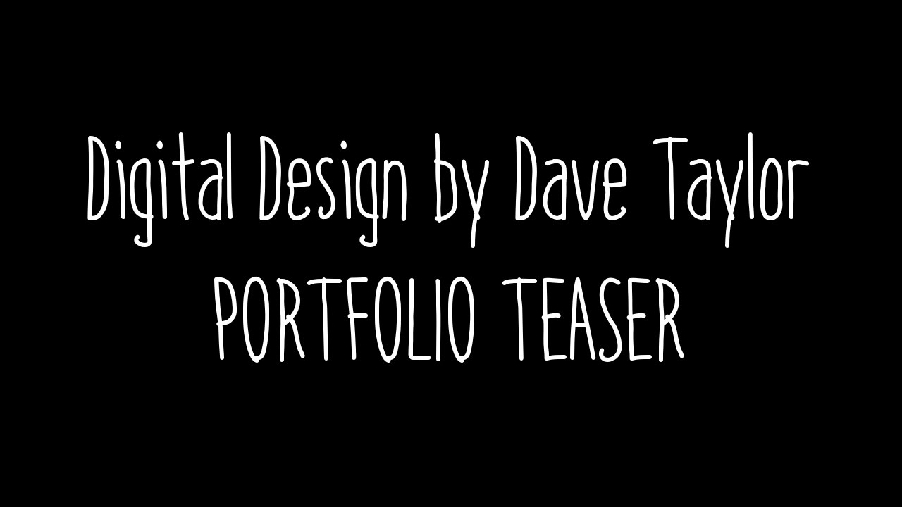 Dave Taylor - App Designs