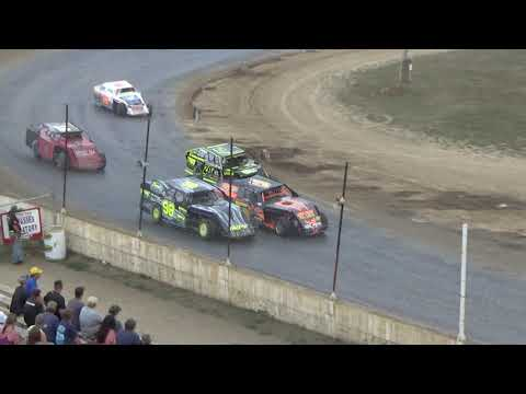 I.M.C.A. Feature Race at Crystal Motor Speedway, Michigan on 09-17-2017!!