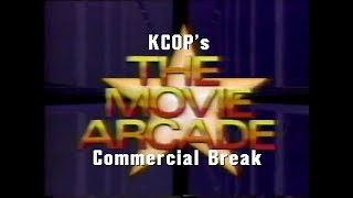 KCOP's The Movie Arcade (1984): December 18, 1987 Commercial Break