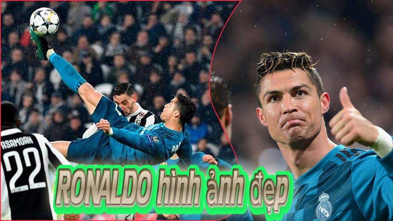 Hình ảnh đẹp của Cristiano Ronaldo trong trận Real Madrid - Juventus