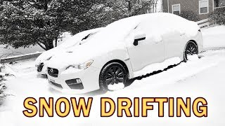 Most Practical Reason To Buy A Subaru WRX | POV Snow Driving