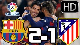Barcelona 2-1 Atletico de Madrid| RESUMEN Y GOLES HD| LIGA BBVA| 30-01-2016(Barcelona 2-1 Atletico de Madrid 2016| Barcelona vs Atletico de Madrid 2016| RESUMEN Y GOLES HD| LIGA BBVA| 30-01-2016 ..., 2016-01-30T20:17:01.000Z)