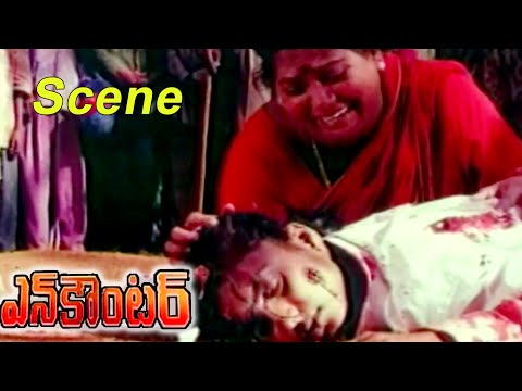 Encounter Movie || Telangana Sakuntala Worry About Roja || Krishna,Ramesh Babu,Radha,Roja