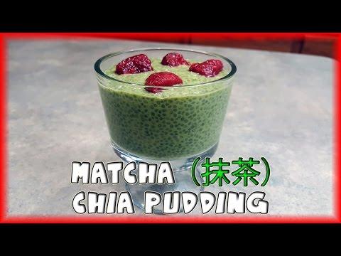 Matcha (抹茶) Green Tea Chia Pudding