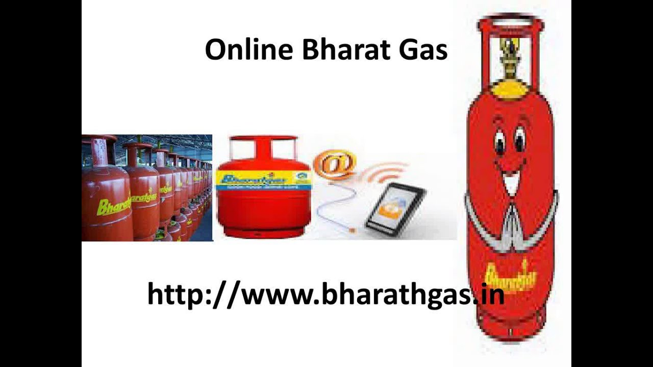 Bharat Gas Online Booking - YouTube