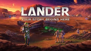 LANDER Backstory | Intrepid Games | Kickstarter March 3 2020