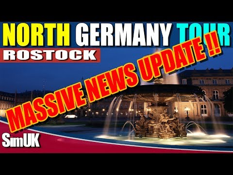 Fernbus Massive News Update! + North Germany Tour - Shwerin to Rostock