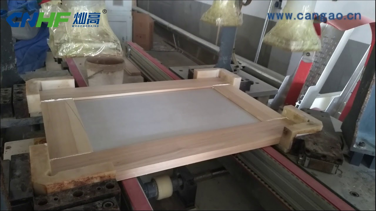 Download High frequency universal wooden frame joining machine