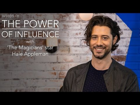 Hale Appleman Dishes on His 'The Magicians' Character Elio's Evolution | WHOSAY