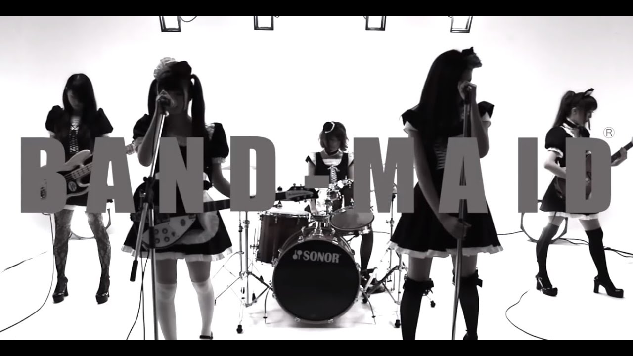 Single Girl Hd Wallpaper Band Maid 174 「thrill」 スリル Mv Youtube