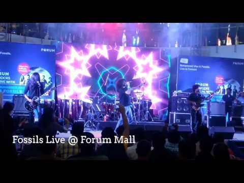 Fossils Bengali Rock Band Powerful Live Performance @ Forum Sujana Mall Hyderabad