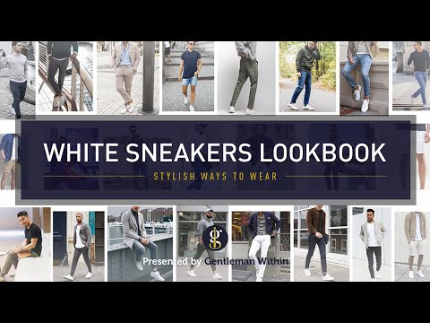 WHITE SNEAKER OUTFITS for Guys | Casual Men's Fashion & Style Inspiration