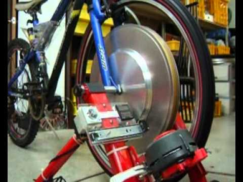 Bicycle driving free power generation power (free energy)