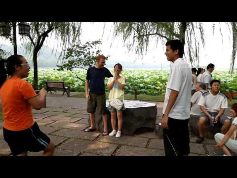 Encounter at West Lake Hangzhou China