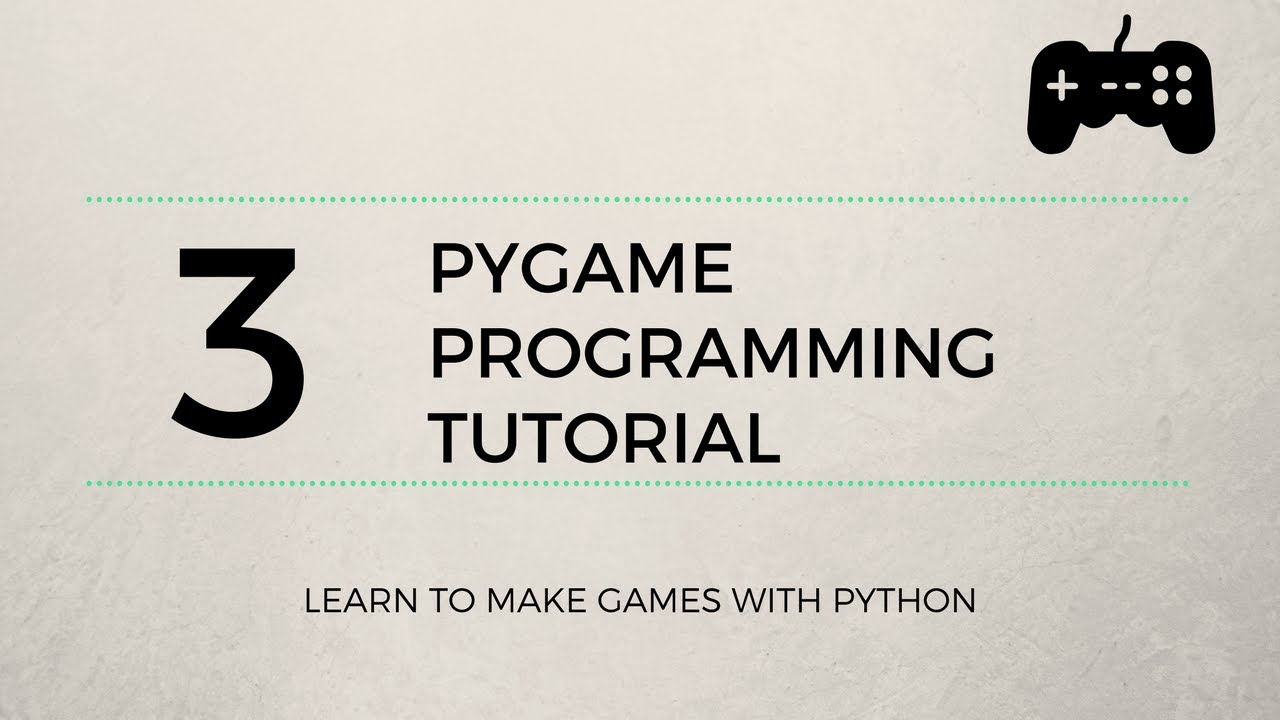 Pygame Tutorial #3 - Character Animation & Sprites