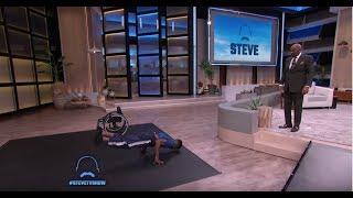 A World Class Athlete with Cerebral Palsy || STEVE HARVEY