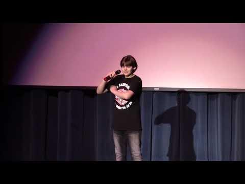 Matt Singing Home Sweet Home in Kenston Middle School Talent Show
