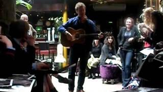 Glen Hansard plays Falling Slowly in a pub