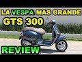 VESPA 300 GTS | Review Test Ride en Español |  Blitz Rider ??