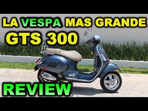 VESPA  GTS | Review Test Ride en Español |  Blitz Rider 😎