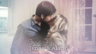 alaric & jenna | make it go away