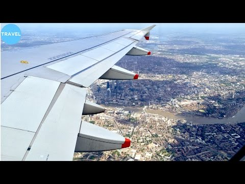 SCENIC APPROACH | British Airways A320 Landing at London Heathrow!