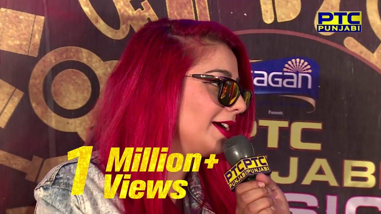 Jasmine Sandlas at RED CARPET | PTC Punjabi Music Awards 2017 | PTC Punjabi