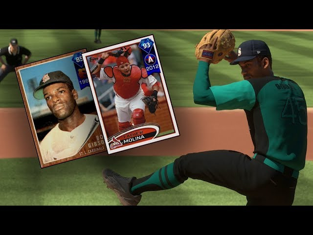 93 MOLINA AND 85 GIBSON DEBUT! - MLB The Show 18 Diamond Dynasty