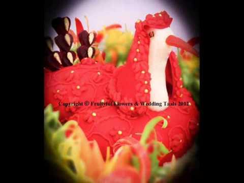 Mehndi Fruit Decoration : Asian wedding thaals platters displays fruit vegetable carving wmv