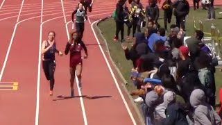 Crowd Goes Crazy For Close 4x200m Finish!