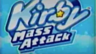 Kirby Mass Attack (Wii U Virtual Console)- Gameplay Footage (Part 1)