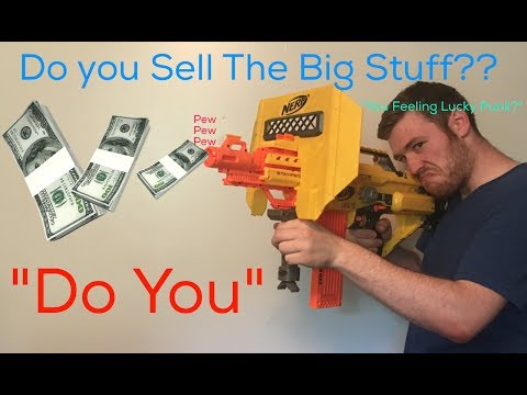 EBay And Amazon : Selling The Big Heavy Items Online!!