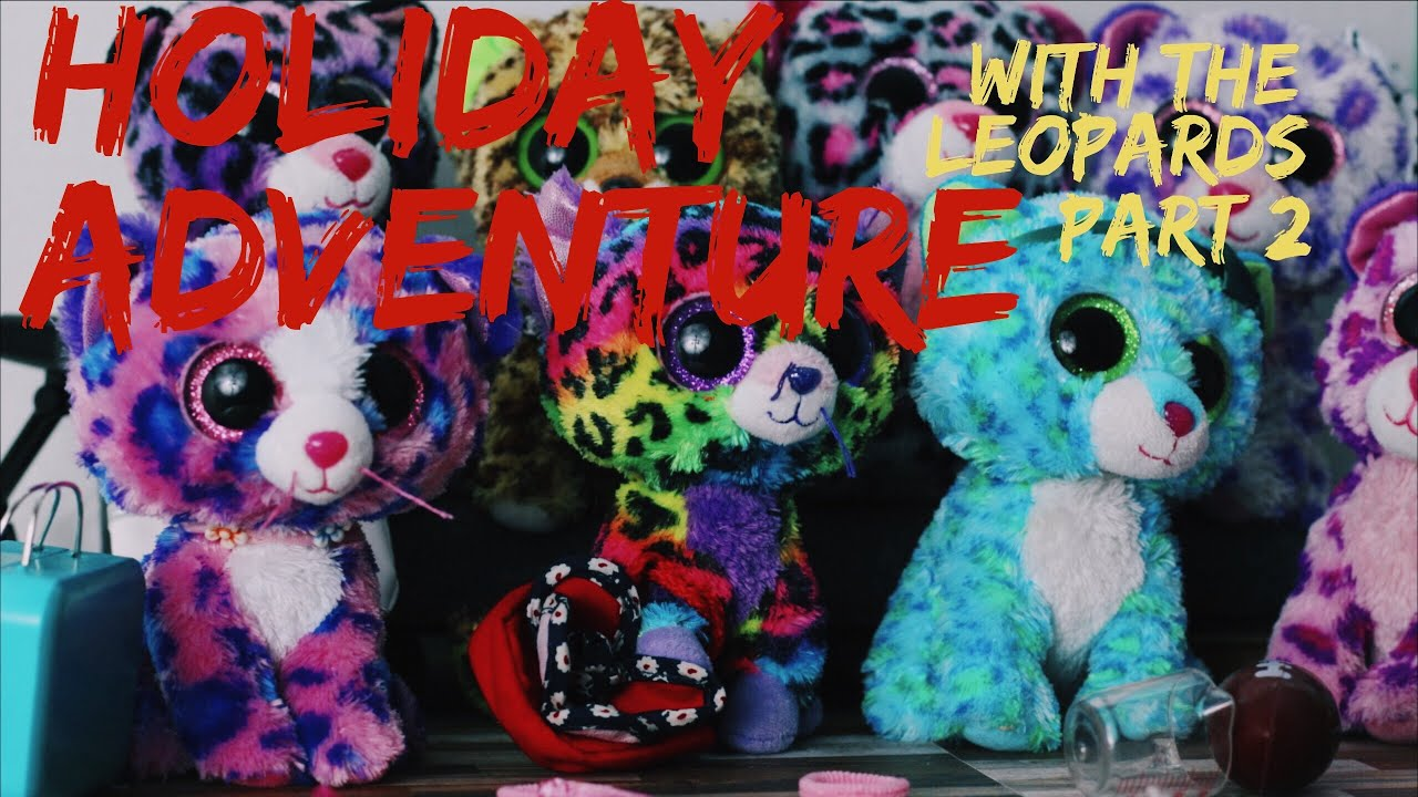 Holiday Adventure Part 2 (Leopard Family Ep5) - Beanie Boo Studios