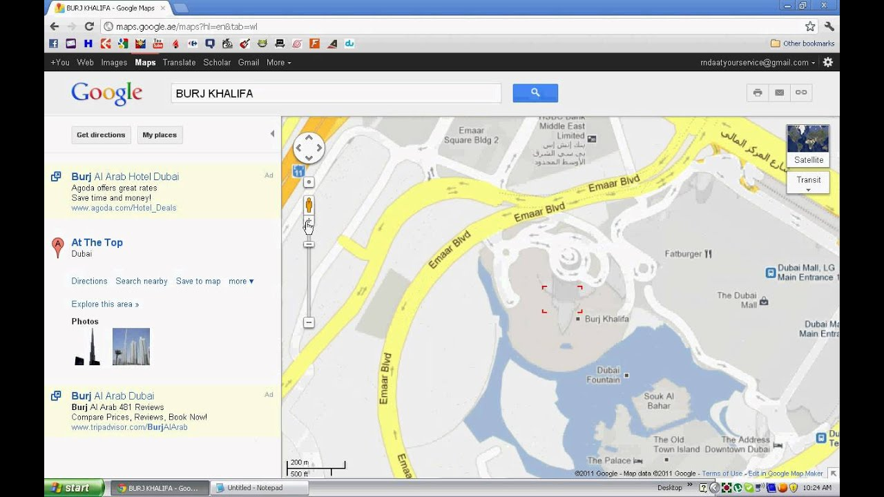 how to get website on google maps