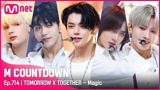 [TOMORROW X TOGETHER - Magic] KPOP TV Show | #엠카운트다운 EP.714 | Mnet 210617 방송