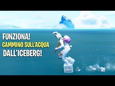 COME RAGGIUNGERE LICEBERG! NEL MARE! Season 7: Iceberg! Fortnite